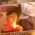 Shonen Jump Naruto Ninja Ranks Guy/Kakashi Card FF1 Foil Mint