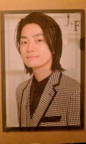 Jun Fukuyama Mini Clear File Folder (31st Anime Grand Prix)