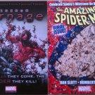 Spider-Man Marvel Comics Promo Flyer set of 2