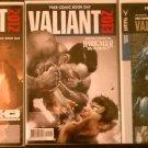 Free Comic Book Day 2012 & 2013 Valiant Comics Special & 2013 Valiant Masters Showcase