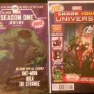 Marvel Season One Guide 2012 & Marvel: Share Your Universe Sampler # 1