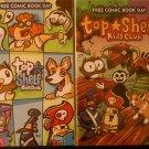 Free Comic Book Day 2012 & 2013 Top Shelf Kids Club