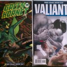 FCBD 2010 Green Hornet # 1 & FCBD 2013 Valiant Who Will Survive the Harbinger Wars Special