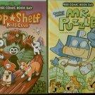 Free Comic Book Day 2013 Capstone Presents Mr. Puzzle & Top Shelf Kids Club