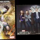 Thanos Rising Issue Five Prelude to Infinity / Agents of SHIELD Double-Sided Poster