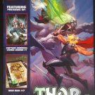 NYCC 2013 Comic Sampler Marvel Previews Convention Edition Thor God of Thunder cover