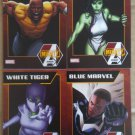 NYCC 2013 Marvel Mighty Avengers Trading Cards Set of 4