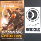 Shadow Ops: Control Point by Myke Cole + signed card (Autographed Mass Market Paperback)
