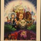Dark Horse Comics Elfquest Promo Print by Wendi & Richard Pini