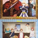 Fate/Zero & Kimi to Boku Double-sided Poster