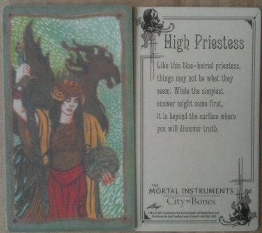 The Mortal Instruments: City of Bones High Priestess Tarot card Leaf 2013