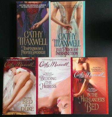 Cathy Maxwell Cameron Sisters Series Book Set