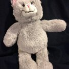 Build a Bear Gray Cat 15 in. with voice box