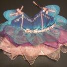 Build a Bear Pink, Blue & Purple Fairy Costume Dress
