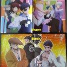 Hamatora / Danganronpa The Animation Double-sided Poster / Pin-up