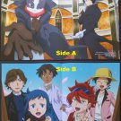 Log Horizon / Gundam Build Fighters Double-side Poster / Pin-up