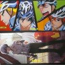 Yowamushi Pedal / Re: Hamatora Double-sided Tri-fold Poster / Pin-up