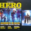 Los Angeles Hero Complex Summer 2014 Guardians of the Galaxy Magazine & Flyer