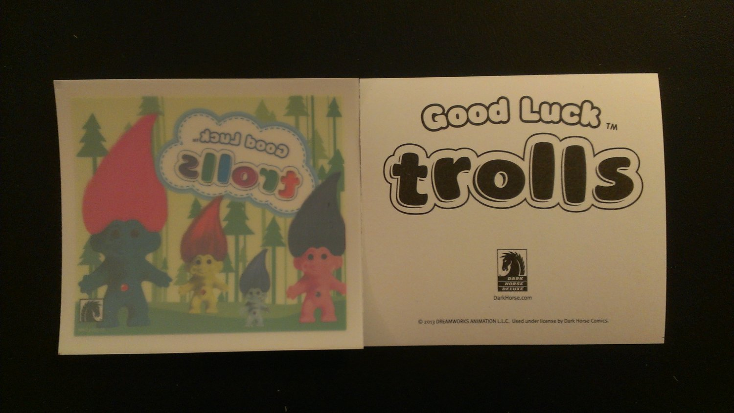 Good Luck Trolls Window Decal / Sticker NYCC 2013