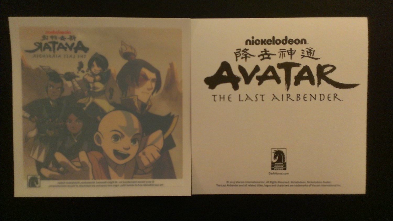 Avatar The Last Airbender Window Decal / Sticker NYCC 2013