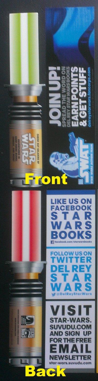 Star Wars Lightsaber & SWAT Promo Bookmarks