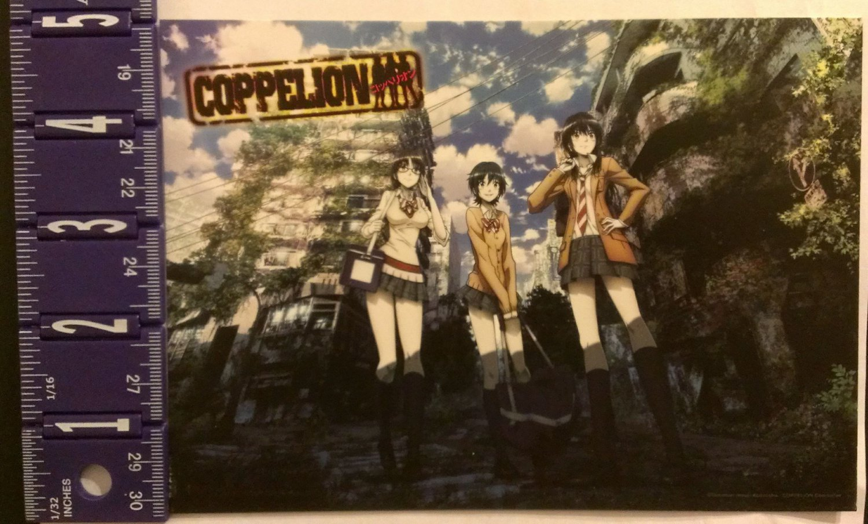 Coppelion Anime Cardstock Flyer NYCC 2013