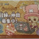 One Piece Treavelling Chopper 15th Annivesary Promo Postcard