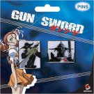 Gun x Sword Van & Dann Pin Set