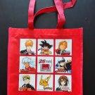 Viz Media 25th Anniversary 2011 Red Tote Bag