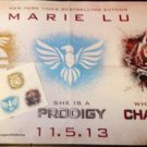 """Marie Lu The Legend Trilogy Series Promo Poster 17"""" × 27"""" & Tattoos"""