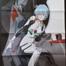 Neon Genesis Evangelion Rei Ayanami Large Folded Poster / Pin-up
