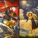 Sengoku Basara: Judge End / Girls und Panzer Double-sided Poster / Pin-up