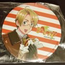 """Hetalia Axis Powers Paint It White America 3"""" Button Can Badge"""