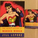 NYCC 2014 The Secret History of Wonder Woman by Jill Lepore Button/Pin & Flyer Set Promo