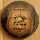NYCC 2014 The Devil's Detective by Simon Kurt Unsworth Button/Pin Promo