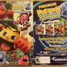NYCC 2014 Pac-Man and the Ghostly Avendures 2 Wall Decal Art Promo Flyer