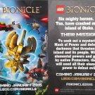 NYCC 2014 Lego Bionicle Promo Flyer