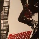 Marvel Netflix Daredevil Production Concept Art by Joe Quesada Poster / Pin-up