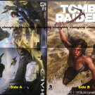 Halo / Tomb Raider Double-sided Poster / Pin-up
