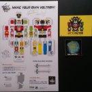 NYCC 2014 Viz Media Voltron 30th Anniversary Paper Craft SIGNED Jacob, Marc  & Brian