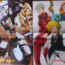 Re:_ Hamatora / The Seven Deadly Sins Double-sided Poster / Pin-up