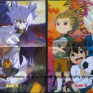 Future Card Buddyfight / Inazuma Eleven Go! Double-sided Poster / Pin-up