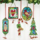 Dimensions Jingle Bell Ornaments Counted Cross Stitch Kit (70-08868) NEW
