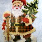 Craftways Woodland Santa Wall Hanging (570358) NEW