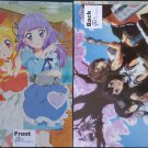 Aikatsu! / Kantai Collection ~KanColle~ Double-sided Poster / Pin-up