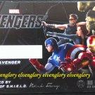Disney Store Marvel's The Avengers Junior Avenger Membership Card
