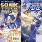 FCBD 2015 Sonic The Hedgehog Mega Man Worlds Unite Prelude
