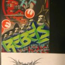 Star Wars Rebels 2015 Topps Sticker Card # 14 of 20 Down with the Empire