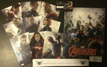 Marvel's The Avengers: Age of Ultron Magazine and Cards Collection