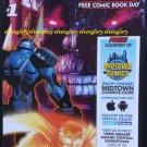 FCBD 2015 DC Comics Divergence Exclusive Midtown Comics Ad Cover